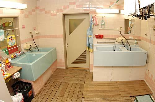 上水保育園本園 沐浴室