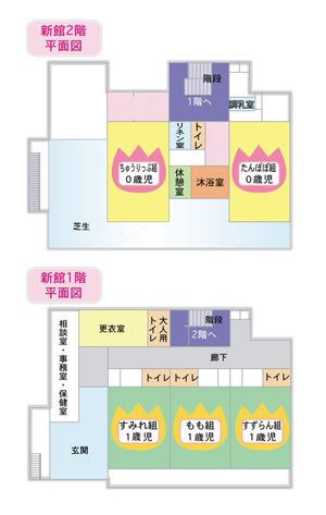 上水保育園 新館(1階、2階)