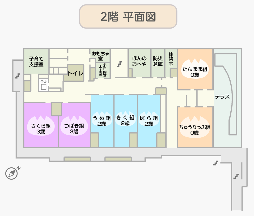 上水保育園本館(2階)